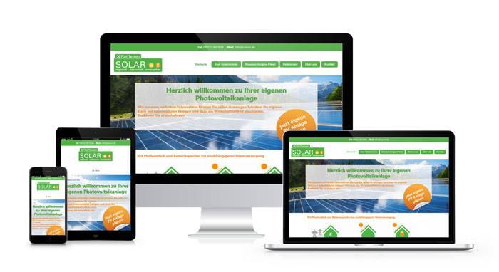Webdesign Referenz RaiSol GmbH